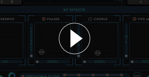 Video thumbnail showing Re4orm's effects like phaser and chorus.