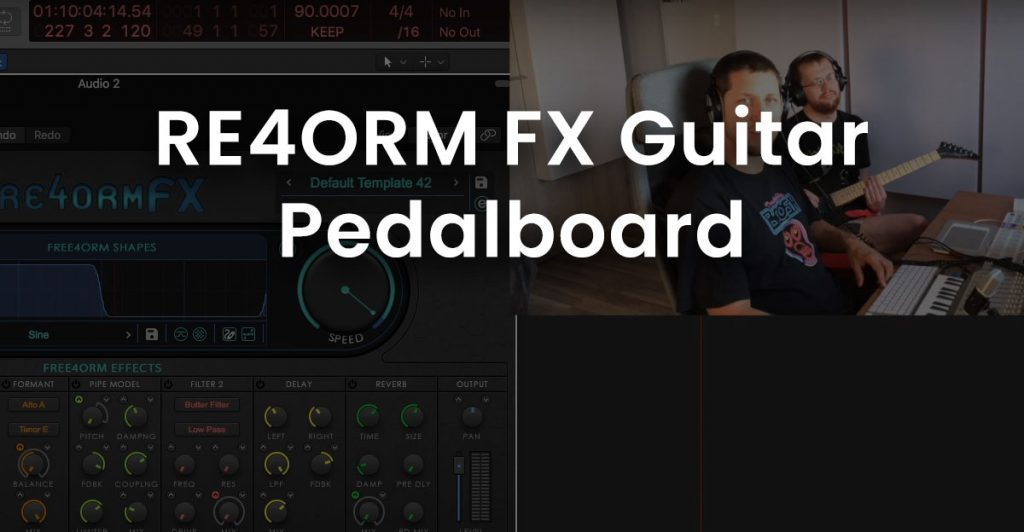 Video thumbnail of RE4ORM FX Guitar Pedalboard video.