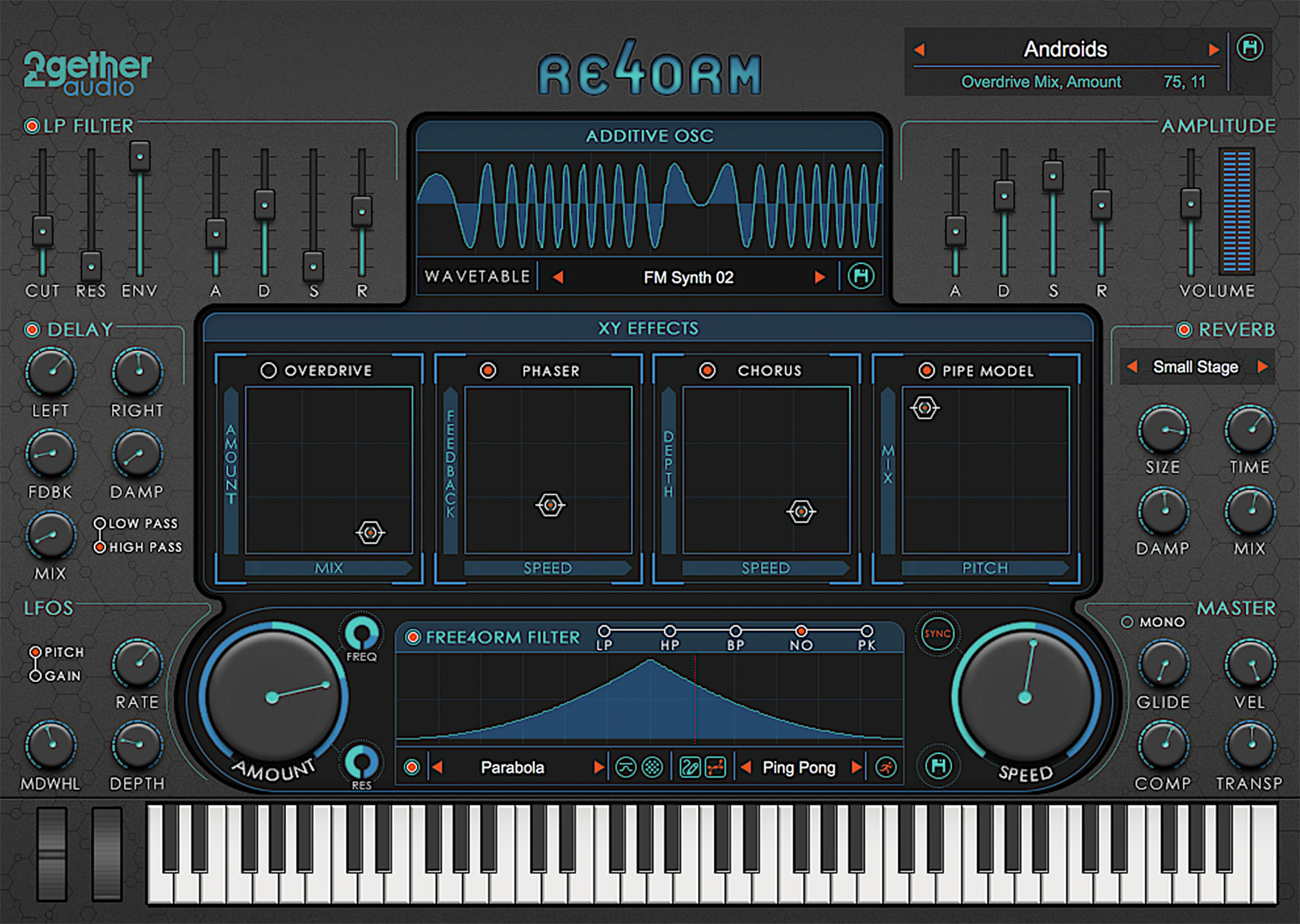 RE4ORM Additive Free4orm Synthesizer