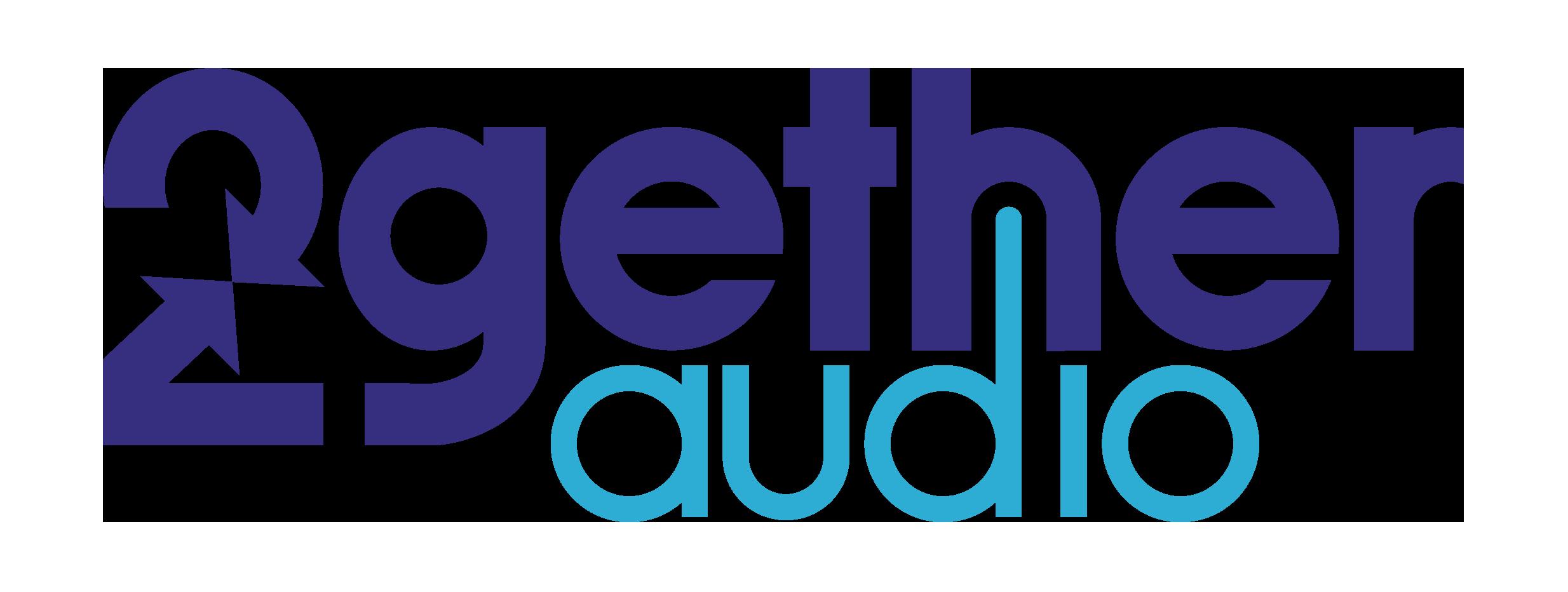 2getheraudio logo. Large.