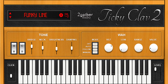 Ticky Clav 2 | 2getheraudio | Music Production Software