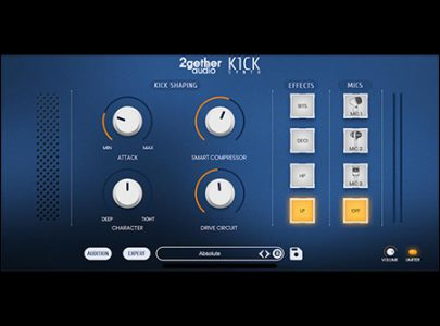 2getheraudio releases K1CK Synth