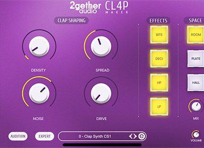 2getheraudio releases CL4P Maker
