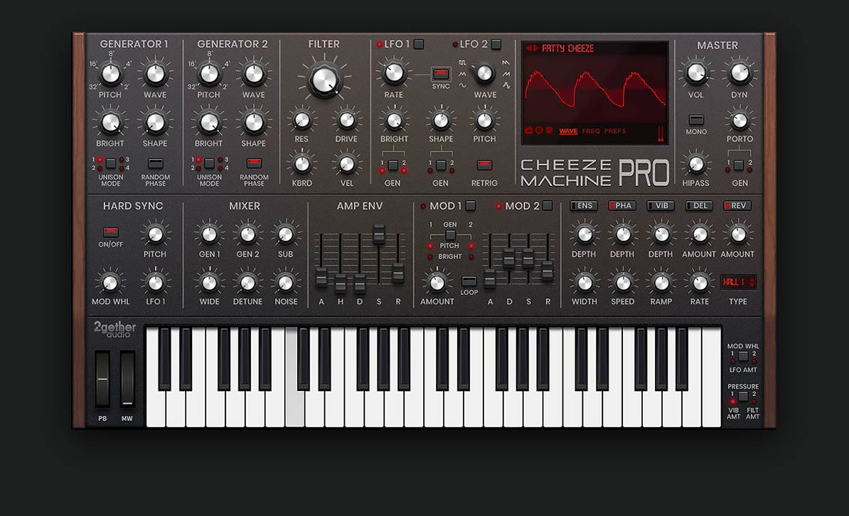 2getheraudio releases Cheeze Machine PRO