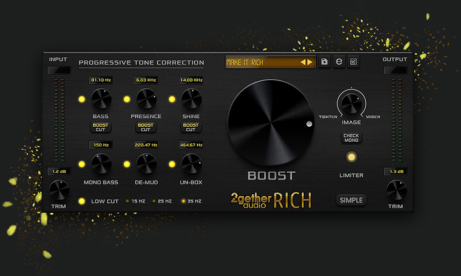 2getheraudio releases RICH
