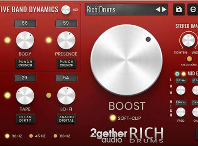 2getheraudio Releases RICH Drums